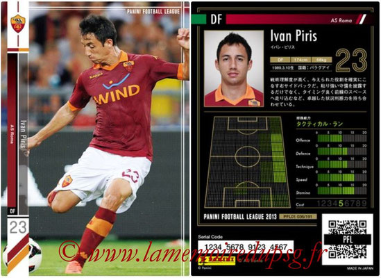 Panini Football League 2013 - PFL01 - N° 036 - Ivan Piris ( AS Roma )