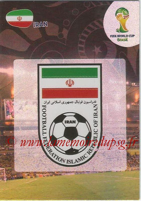 2014 - Panini FIFA World Cup Brazil Adrenalyn XL - N° 202 - Logo Iran