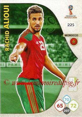 2018 - Panini FIFA World Cup Russia Adrenalyn XL - N° 225 - Rachid ALIOUI (Maroc)
