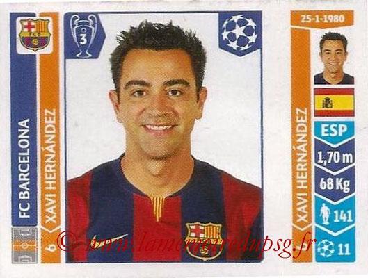 2014-15 - Panini Champions League N° 432 - Xavi HERNANDEZ (FC Barcelone)