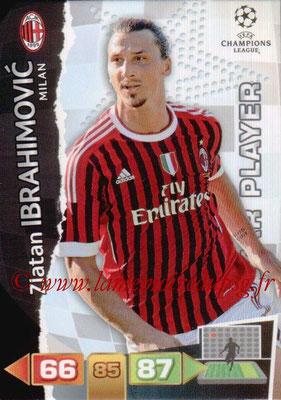 N° 170 - Zlatan IBRAHIMOVIC (2011-12, Milan AC, ITA > 2012-16, PSG)