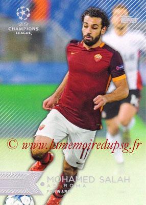 2015-16 - Topps UEFA Champions League Showcase Soccer - N° 118 - Mohamed SALAH (AS Roma)