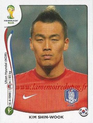 2014 - Panini FIFA 2014 - Panini FIFA World Cup Brazil Stickers - N° 637 - Kim SHIN-WOOK (Corée du Sud)World Cup Brazil Stickers - N° 637 - Kim SHIN-WOOK (Corée du Sud)