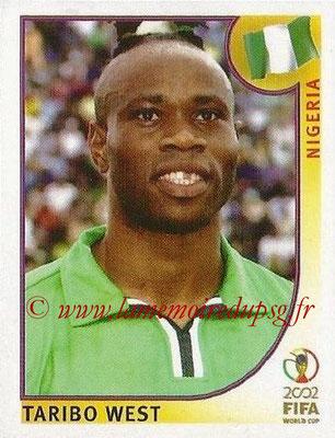 2002 - Panini FIFA World Cup Stickers - N° 408 - Taribo WEST (Nigéria)