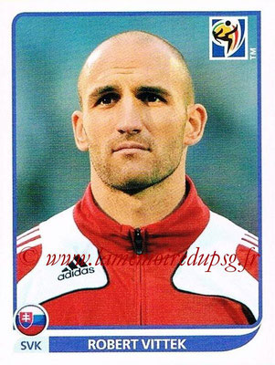 2010 - Panini FIFA World Cup South Africa Stickers - N° 482 - Robert VITTEK (Slovaquie)