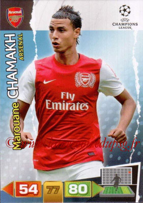 2011-12 - Panini Champions League Cards - N° 019 - Marouane CHAMAK (Arsenal FC)