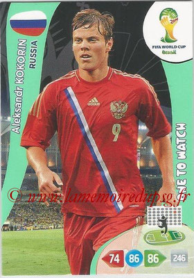 2014 - Panini FIFA World Cup Brazil Adrenalyn XL - N° 291 - Aleksandr KOKORIN (Russie) (One to watch)