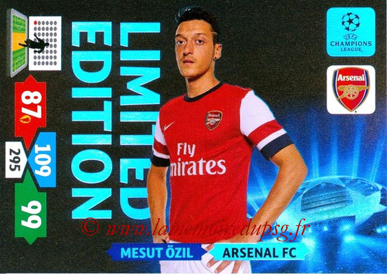 2013-14 - Adrenalyn XL champions League N° LE04 - Mesut ÖZIL (Arsenal FC) (Limited Edition)