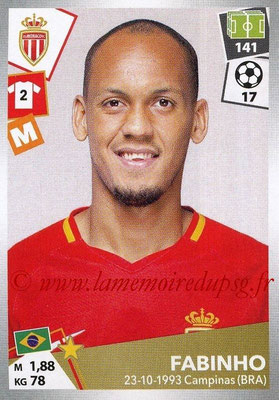 2017-18 - Panini Ligue 1 Stickers - N° 269 - FABINHO (Monaco)