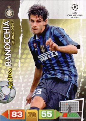 2011-12 - Panini Champions League Cards - N° 107 - Andrea RANOCCHIA (Inter Milan)