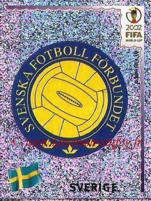 2002 - Panini FIFA World Cup Stickers - N° 440 - Logo Suède