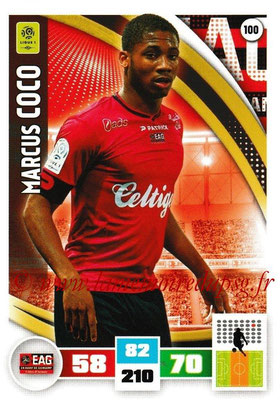 2016-17 - Panini Adrenalyn XL Ligue 1 - N° 100 - Marcus COCO (Guingamp)