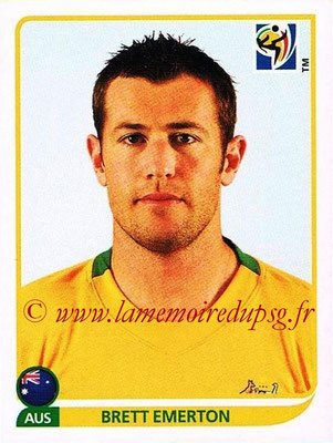 2010 - Panini FIFA World Cup South Africa Stickers - N° 292 - Brett EMERTON (Australie)