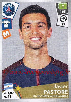 2017-18 - Panini Ligue 1 Stickers - N° 379 - Javier PASTORE (Paris Saint-Germain)