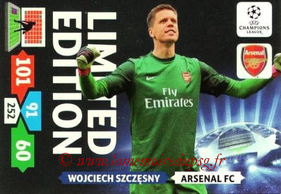 2013-14 - Adrenalyn XL champions League N° LE05 - Wojciech SZCZESNY (Arsenal FC) (Limited Edition)