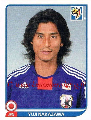 2010 - Panini FIFA World Cup South Africa Stickers - N° 376 - Yuji NAKAZAWA (Japon)