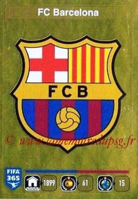 2015-16 - Panini FIFA 365 Stickers - N° 341 - Ecusson FC Barcelone