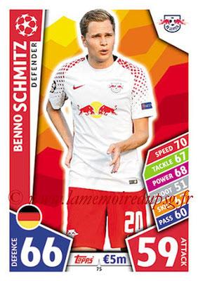 2017-18 - Topps UEFA Champions League Match Attax - N° 075 - Benno SCHMITZ (RB Leipzig)