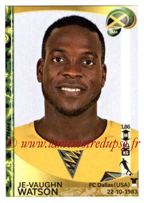 Panini Copa America Centenario USA 2016 Stickers - N° 270 - Je-Vaughn WATSON (Jamaïque)