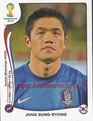 2014 - Panini FIFA World Cup Brazil Stickers - N° 623 - Jung SUNG-RYONG (Corée du Sud)