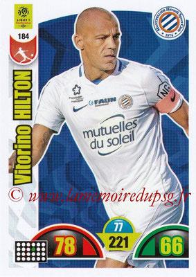 2018-19 - Panini Adrenalyn XL Ligue 1 - N° 184 - Vitorino HILTON (Montpellier)