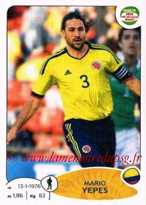 N° 174 - Mario YEPES (2004-08, PSG > 2014, Colombie)