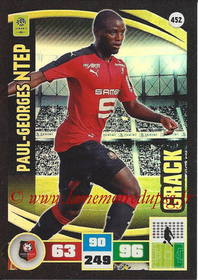 2016-17 - Panini Adrenalyn XL Ligue 1 - N° 452 - Paul-Georges NTEP (Rennes) (Crack)