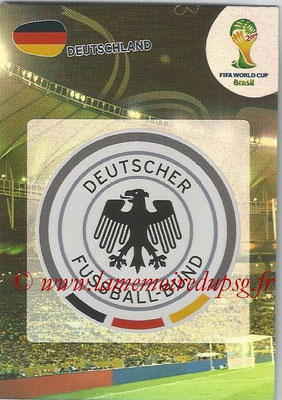 2014 - Panini FIFA World Cup Brazil Adrenalyn XL - N° 103 - Logo Allemagne