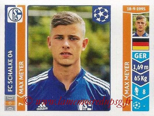 2014-15 - Panini Champions League N° 515 - Max MEYER (FC Schalke 04)