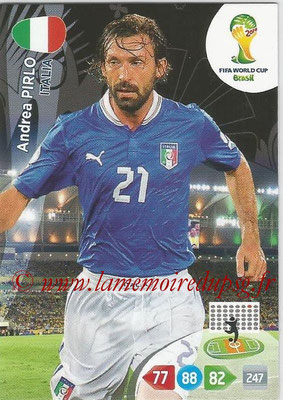 2014 - Panini FIFA World Cup Brazil Adrenalyn XL - N° 213 - Andrea PIRLO (Italie)