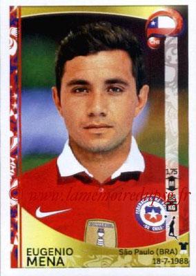 Panini Copa America Centenario USA 2016 Stickers - N° 332 - Eugenio MENA (Chili)