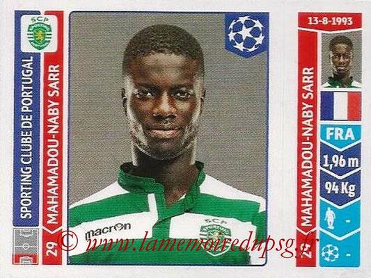 2014-15 - Panini Champions League N° 528 - Mahamadou-Naby SARR (Sporting Club de Portugal)