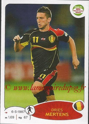2014 - Panini Road to FIFA World Cup Brazil Stickers - N° 265 - Dries MERTENS (Belgique)