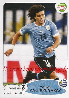 2014 - Panini Road to FIFA World Cup Brazil Stickers - N° 081 - Matias AGUIRREGARAY (Uruguay)