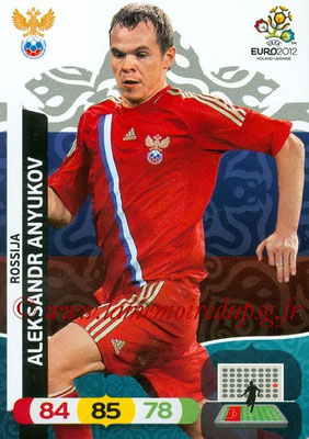 Panini Euro 2012 Cards Adrenalyn XL - N° 191 - Aleksandr ANYUKOV (Russie)
