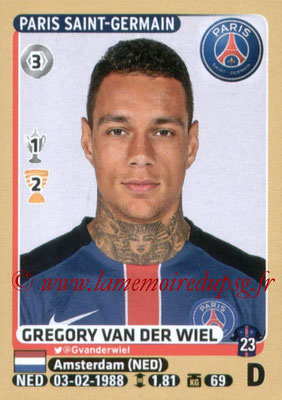 2015-16 - Panini Ligue 1 Stickers - N° 348 - Gregory VAN DER WIEL (Paris Saint-Germain)