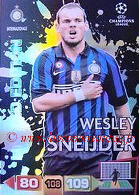 2011-12 - Panini Champions League Cards - N° LE22 - Wesley SNEIJDER (Inter Milan) (Limited Edition)