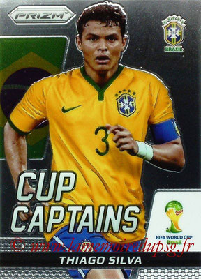 N° CC28 - Thiago SILVA (2012-??, PSG > 2014, Brésil) (Cup Captain)