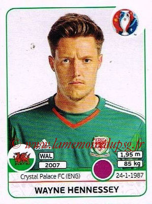 Panini Euro 2016 Stickers - N° 181 - Wayne HENNESSEY (Pays de Galles)