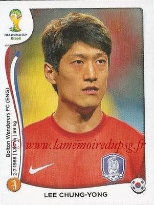 2014 - Panini FIFA World Cup Brazil Stickers - N° 631 - Lee CHUNG-YONG (Corée du Sud)