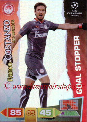 2011-12 - Panini Champions League Cards - N° 290 - Franco COSTANZO (Olympiacos) (Goal Stopper)