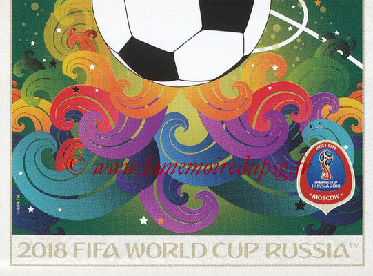 2018 - Panini FIFA World Cup Russia Stickers - N° 021 - Moscou