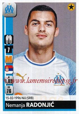 2018-19 - Panini Ligue 1 Stickers - N° 213 - Nemanja RADONJIC (Marseille)