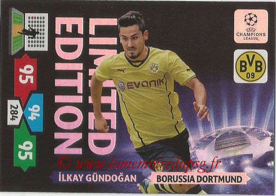 2013-14 - Adrenalyn XL champions League N° LE21 - Ilkay GUNDOGAN (Borussia Dortmund) (Limited Edition)