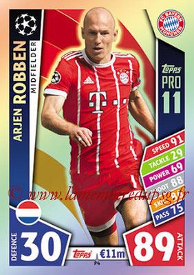 2017-18 - Topps UEFA Champions League Match Attax - N° P04 - Arjen ROBBEN (FC Bayern Munich) (Pro 11)