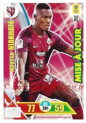 2017-18 - Panini Adrenalyn XL Ligue 1 - N° 165bis - Moussa NIAKHATE (Metz) (Mise à jour)