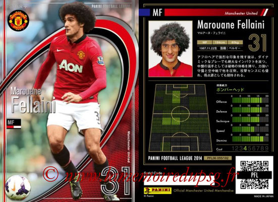 Panini Football League 2014 - PFL06 - N° 055 - Marouane FELLAINI (Manchester United FC) (Star +)