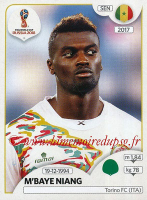 2018 - Panini FIFA World Cup Russia Stickers - N° 629 - M'Baye NIANG (Senegal)