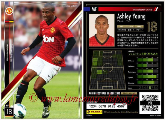Panini Football League 2013 - PFL03 - N° 061 - Ashley Young (Manchester United)