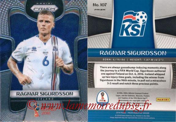 2018 - Panini Prizm FIFA World Cup Russia - N° 107 - Ragnar SIGURDSSON (Islande)